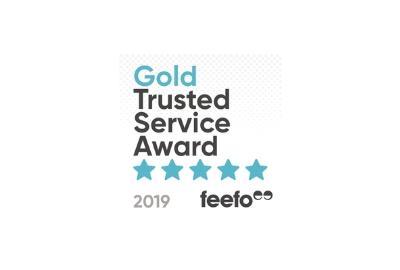 Bettersafe Wins FEEFO Gold Trusted Service Award 2019