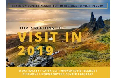 Bettersafe Top 7 regions to visit in 2019