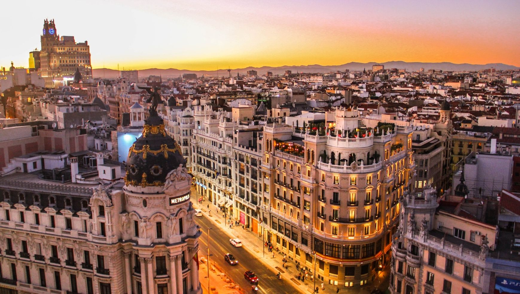 Bettersafe Best places to visit in Europe 2019 - Madrid, Spain
