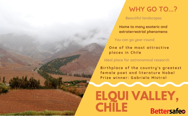 Chile - Bettersafe - Lonely Planet - Best destinations for 2019