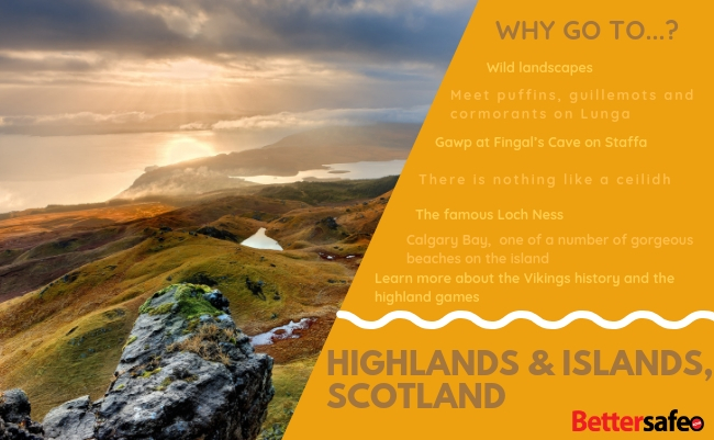 Scotland - Lonely Planet - Best destinations for 2019