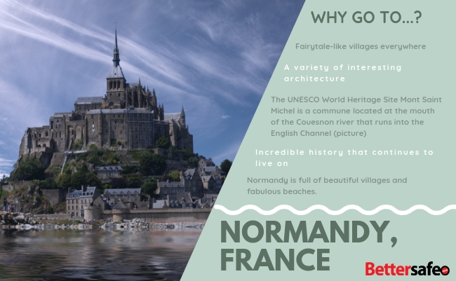 Normandy - France - Lonely Planet - Best destinations for 2019