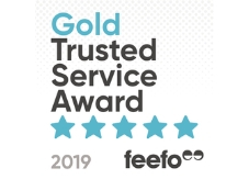 Bettersafe Wins FEEFO Gold Trusted Service Award 2019