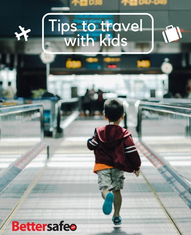 Tips to travel with kids