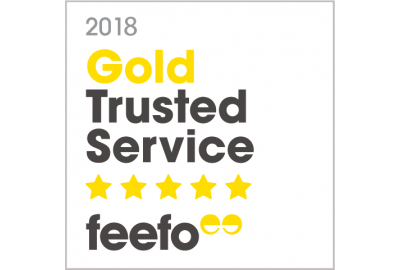Bettersafe Awarded FEEFO Gold Trusted Service Award 2018